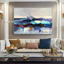 Big Size 100% Handmade Canvas Oil Painting For Room Decor Modern Abstract Picture Hand Painted flower oil Paintings wall artwork