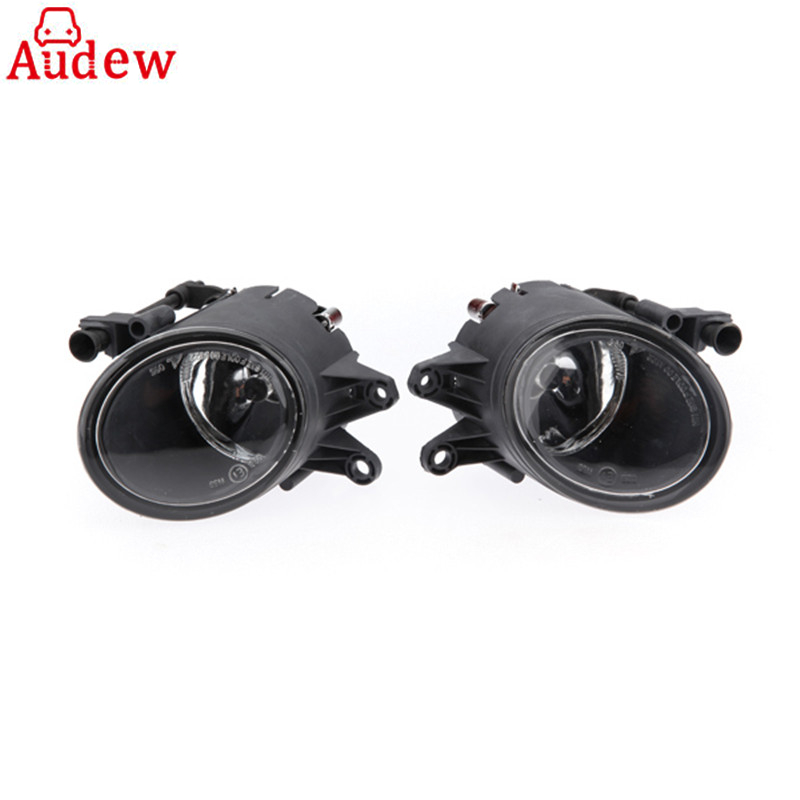 Pair Car 55W H11 Front Bumper Driving Fog Light Lamp for Audi A4 B6 Sedan 02-05 03 04 1 pair left right bumper headlight washer caps cover for audi a4 b6 quattro 02 05