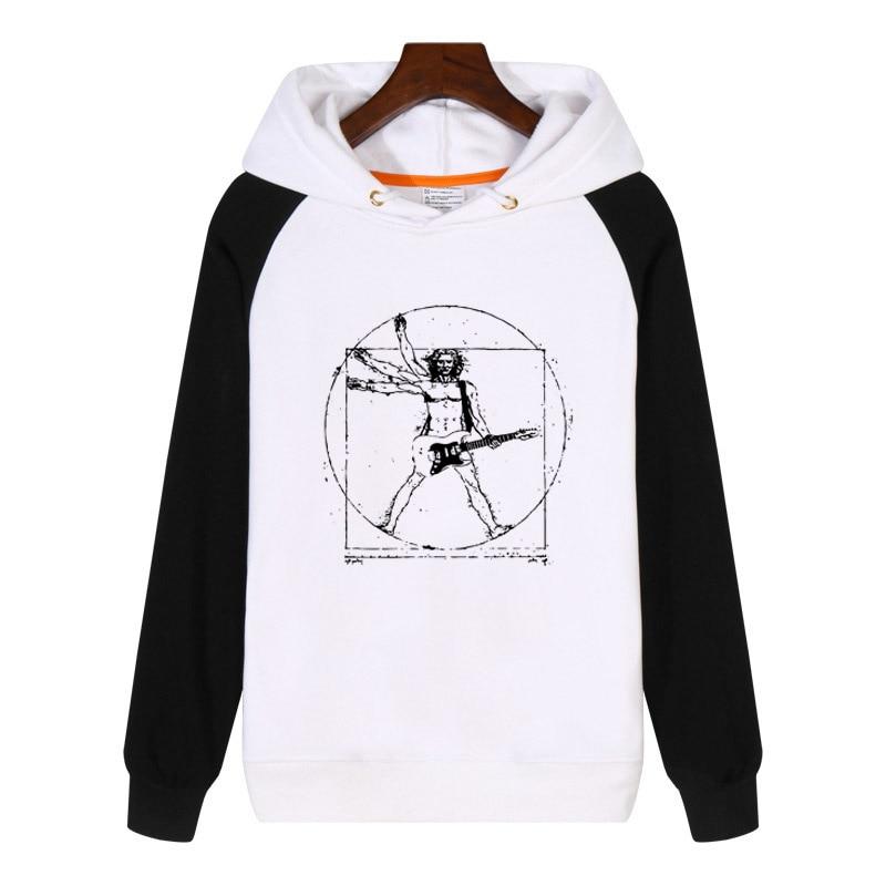 Da Vinci Rock Hoodies fashion men women Sweatshirts winter Streetwear Hip hop Hoody Clothes Tracksuit Sportswear GA384