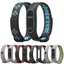 Bracelet Mi Band 2 wrist Strap watch band accessories smart bracelet sport Silicone for Xiaomi mi