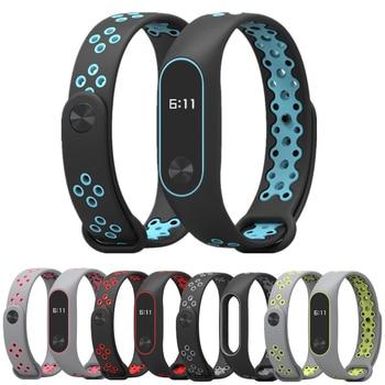 Bracelet Mi Band 2 wrist Strap watch band accessories smart bracelet sport Silicone for Xiaomi mi