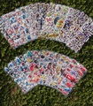 29 pçs/lote adesivos crianças kawaii puffy dos desenhos animados 3d adesivos pokemon mala vintage adesivo de parede notebook scrapbook