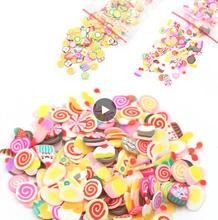 Fruit Slices Charms Slide Addition for Slime Supplies fimo Slimes Polymer Clear Slime mud Accessories Putty Clay Decoration J01 fruit fimo slices polymer clay 1000pcs fimo fruit slices slime charms polymer clay fruit decoden fimo fruit slices nail art d