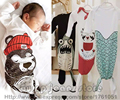 2016 New Envelopes Newborns Sleeping Bags Shark Mermaid Bear Baby Spring Summer Autumn Bed Bedding Blanket Swaddling