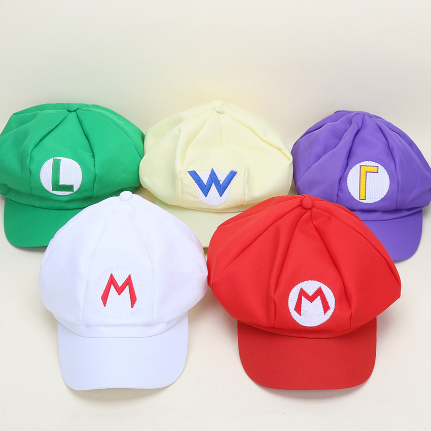 Toys For Caps : Soft plush toy super mario bros hat cosplay caps