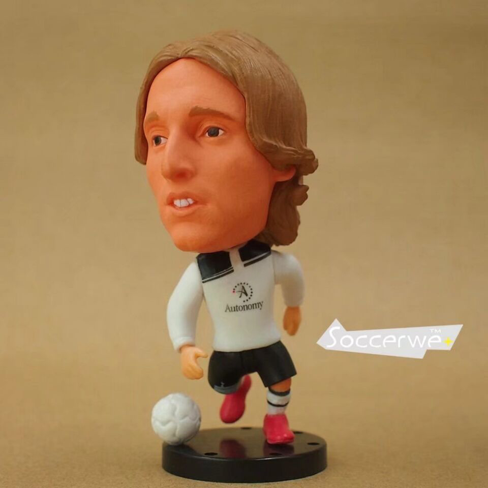 Football Soccer Player Star 14# 14# MODRIC 2.5 Toy Doll Figure 2011 style