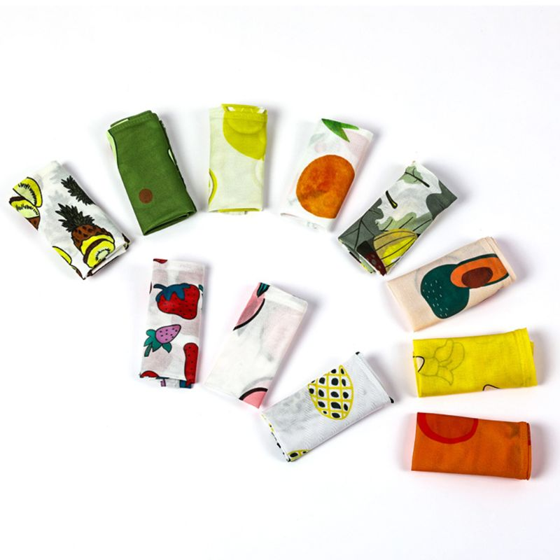 Korean Colored Cute Cartoon Avocado Fruit Print Arm Sleeves Cover Women Girl Summer Outdoor Cycling Cooling Sun Protection Glove