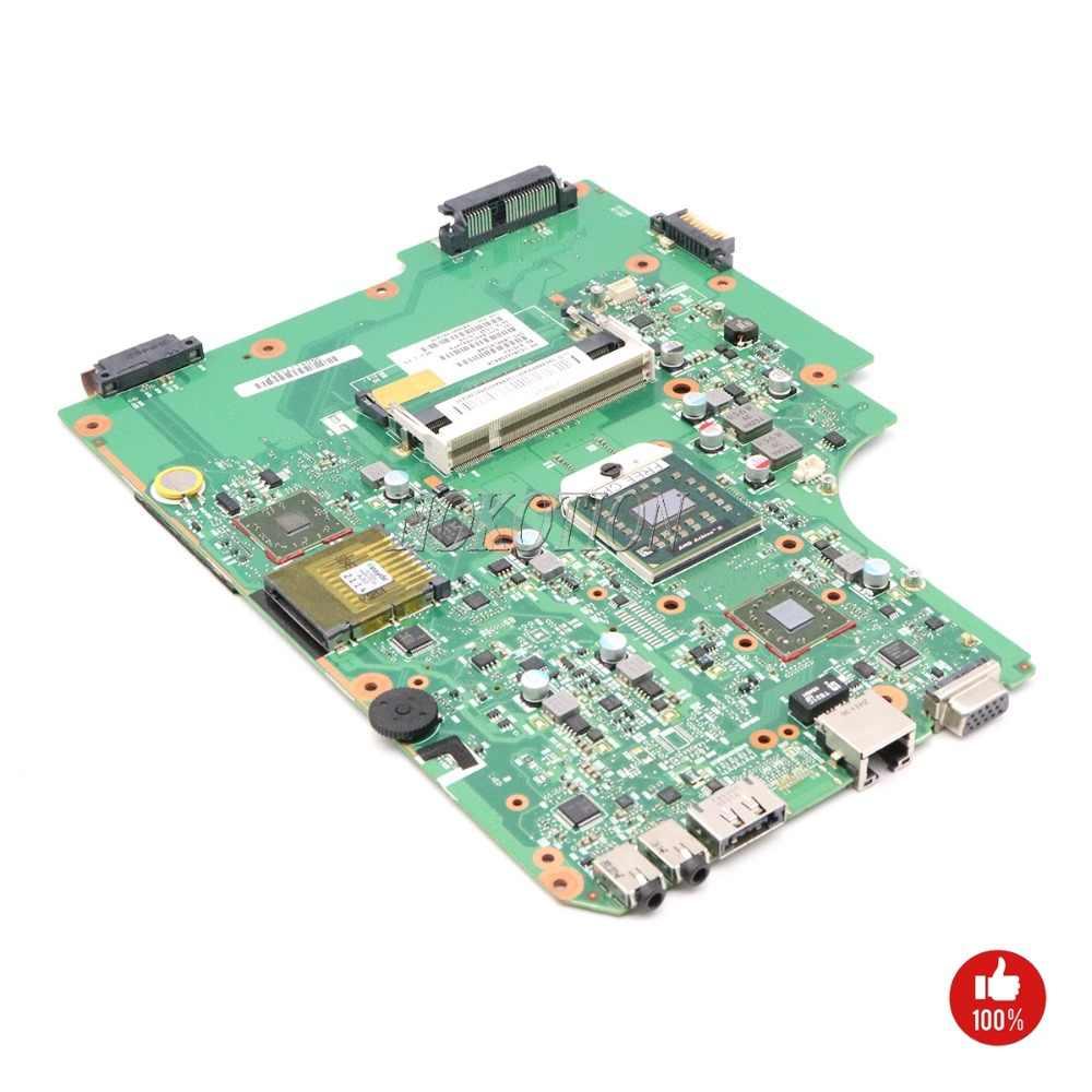 NOKOTION V000185580 V000185560 Laptop Motherboard Para Toshiba Satellite L505 L505D 1310A2250810 DDR2 Placa Principal da cpu Livre