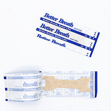 50Pcs/lot (55x16mm) Anti Snoring Nasal Strips Sleep Better Right Aid Stop Snore Patches Breathe Improve Sleeping Health