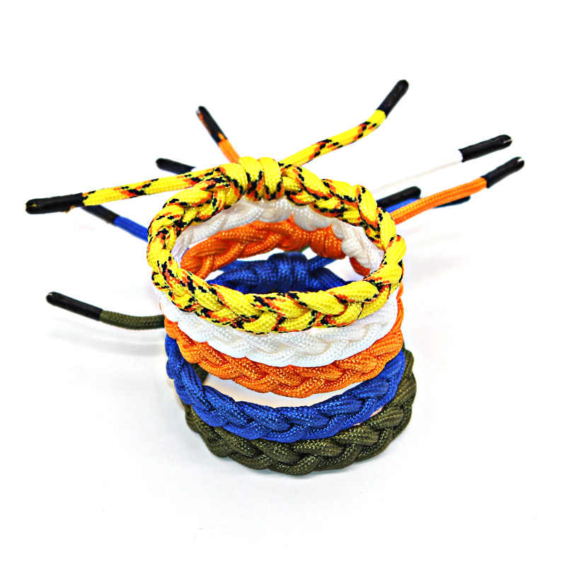 12colors bracelet homme 2019 shoelace bracelets cuir hand made sport Beach leisure women men jewelry