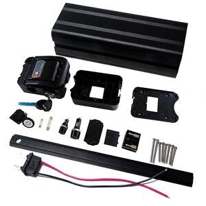 Image 3 - 36V 10Ah akumulator do rowerów elektrycznych case dla majsterkowiczów akumulator litowy 24V 36V 48V box z bezpłatnym 5*13 uchwyt i czysty nikiel