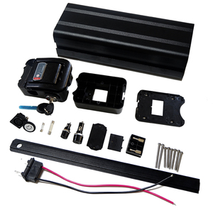 Image 3 - Funda para batería de bicicleta eléctrica 36V 10Ah, paquete de batería de litio, caja de 24V 36V 48V con soporte gratis 5*13 y níquel puro