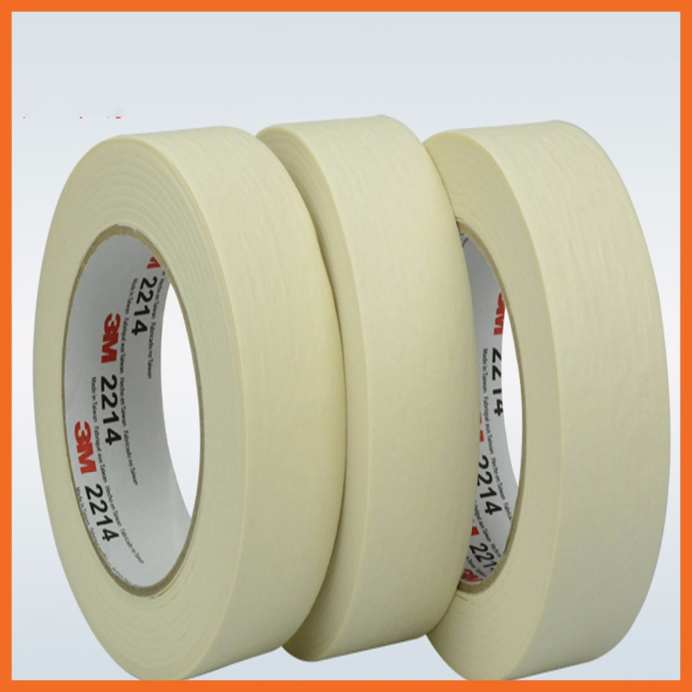 Car beauty spray paint covering adhesive tape tear open without leaving any residual glue 35mmx164ft 3M2214