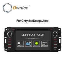 Ownice C500 Android 6.0 Octa core dvd-плеер автомобиля для Jeep Grand Wrangler 2015 Patriot Compass путешествие GPS Navi Радио 4 г LTE SIM