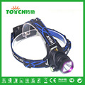 Headlamp Outdoor Lighting CREE XML T6 Super Bright Headlight Aluminum Alloy Waterproof For Use 2x18650 Battary Led Lamp 7023