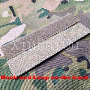 Image 2 - Stickerei patch stalker Team Moral taktik Militär