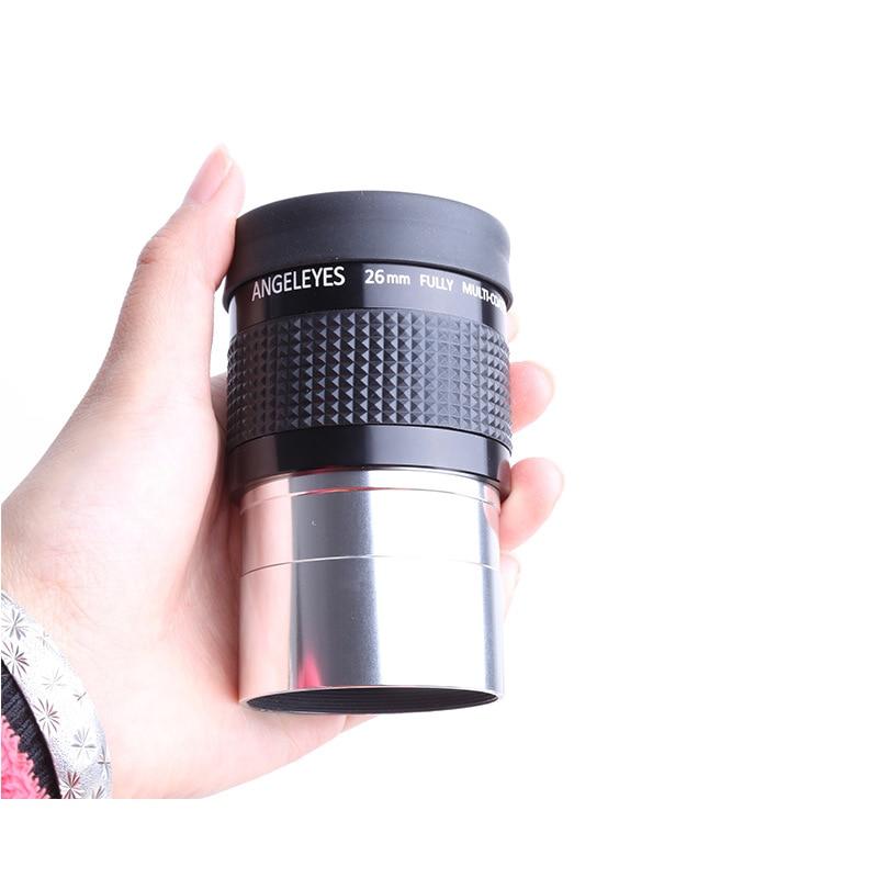 купить NEW 2 26mm 30mm 40mm Eyepiece Metal Hd Fully Multi-coated for Professional Astronomy Telescope Monocular Binoculars Accessories недорого