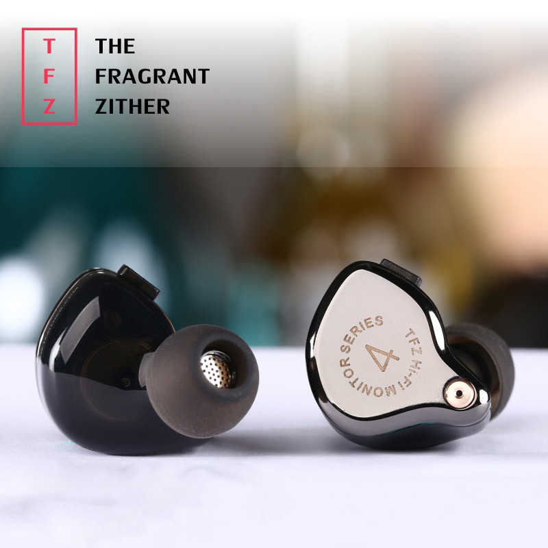 New The Fragrant Zither TFZ SERIES 4 In Ear Earphone HIFI Monitor In Ear Sports Earphone DJ Bass Earphone With 2 Pin Interface original senfer dt2 ie800 dynamic with 2ba hybrid drive in ear earphone ceramic hifi earphone earbuds with mmcx interface