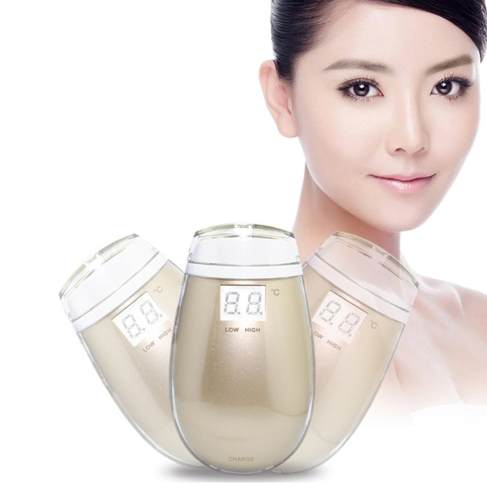 Portable Intelligent Temperature Control Electric Wave Beauty Facelift Skin Rejuvenation Wrinkle Remover Massager
