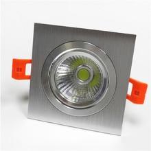 С регулируемой глубиной светодиодный потолочный светильник 5 Вт 7 Вт 9 Вт 10 Вт 12 Вт 15 Вт затемняющий Светодиодный точечный светильник светодиодный потолочный светильник AC 110 В 220 В