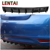LENTAI 1PC Car Rear Bumper Modified Spoiler Shark Fin Styling For Ford Focus 2 Fiesta Mondeo MK4 Ranger Toyota Corolla chr RAV4