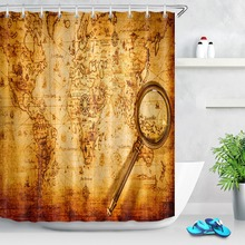 mapa mundo antiguo RETRO VINTAGE