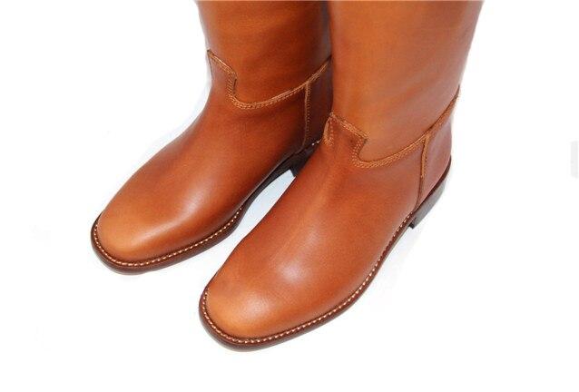 Aoud Saddley/сапоги для верховой езды из натуральной кожи с кожаной подкладкой под платье, сапоги для верховой езды, обувь унисекс по индивидуаль