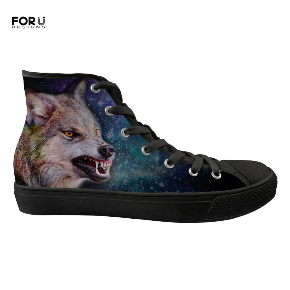 custom Sneakers Z40 cc3714z38 Loup Vulcanisé Z38 cc3207z38 cc3384z38 Toile Appartements cc3383z38 Femmes 3d Chaussures Femme Custom cc3197z38 Forudesigns High cc3196z38 Casual Galaxy Top cc3206z38 Motif Cool Animal Dames ARL5jc34q