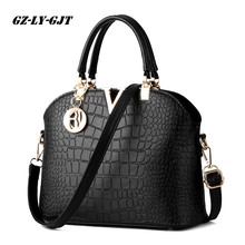 GZ-LY-GJT Frauen designer pu-leder handtaschen frauen umhängetasche Damen krokodil muster schultertasche Crossbody Hohe Qualität