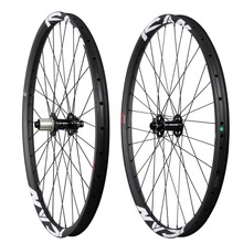 2017 Updated 29ER Carbon MTB Wheels 32/32holes UD Matte Clincher and Tubeless ready Boost mountain bike wheel
