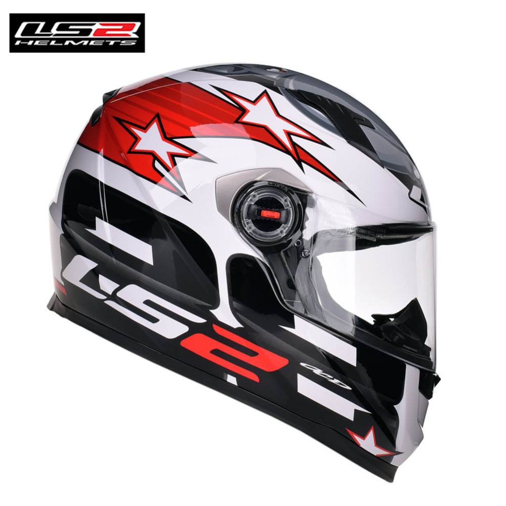 Full Face Motorcycle Helmet  Ls2 FF358 Racing Casco Casque Capacete Moto Kask Helm Helmets Caschi Crash For  Motocyklowy ls2 helmet