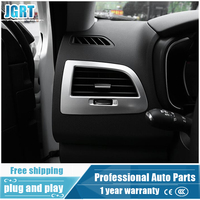 JGRT Car Styling For Renault Koleos 2017 Model ABS Front Air Outlet Cover Decoration Frame 6