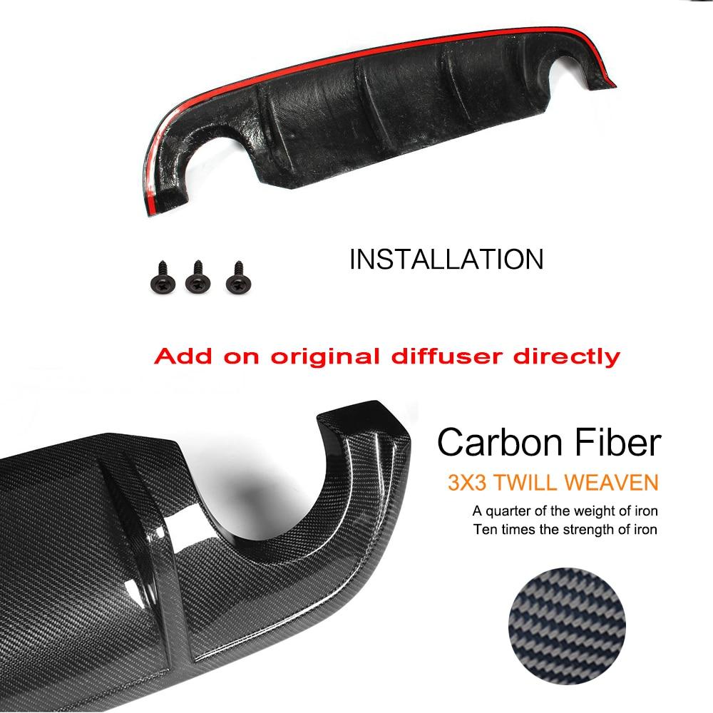 Задний бампер диффузор спойлер защита для Infiniti Q50 база и Спорт 2013- углеродное волокно/FRP/PU