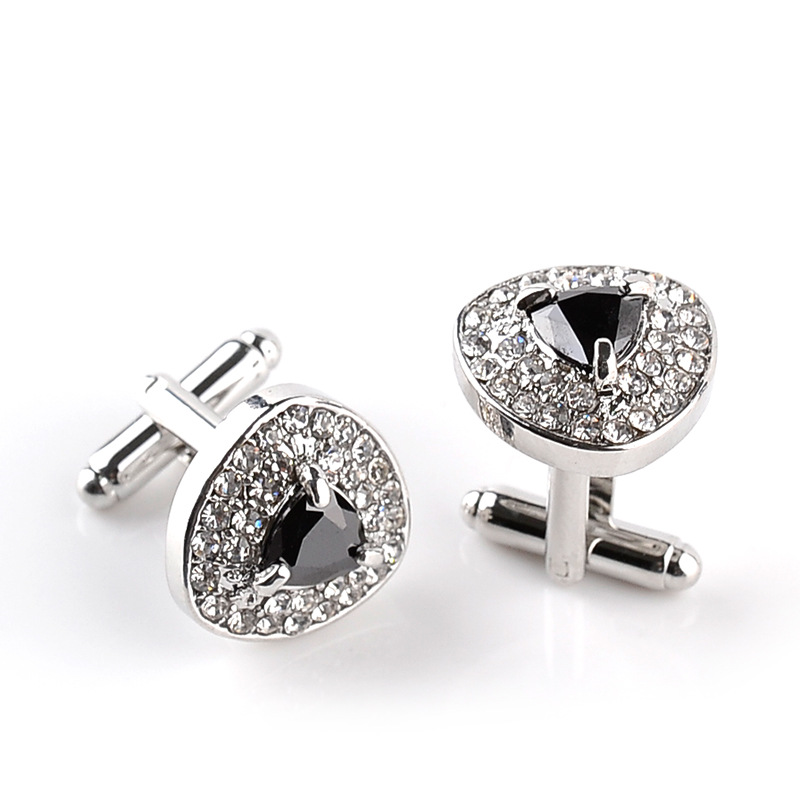 South Alabama Jaguars Cufflinks Stainless Steel 18mm Round with Bullet Back and Brushed Surface Top is Approximately The Size of a Dime. Collegiate Cufflinks
