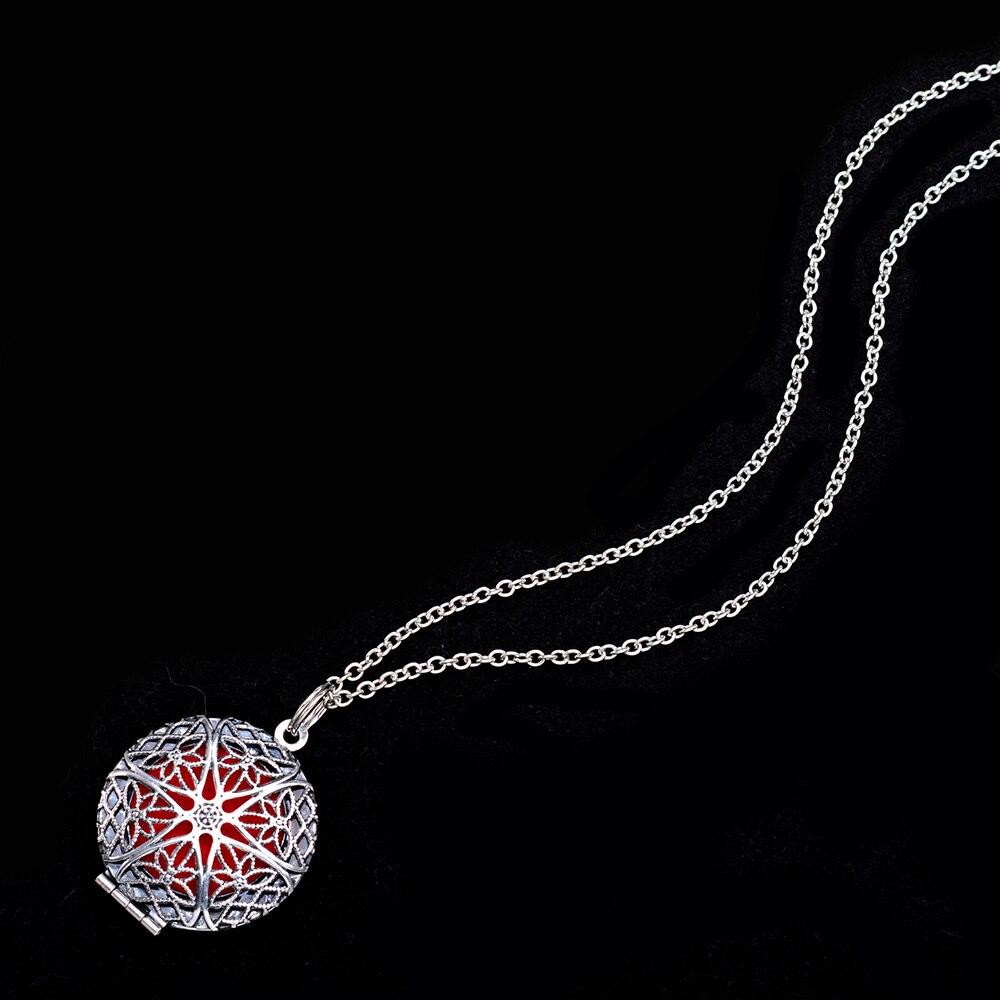 1 шт. 70 см винтажные ароматерапия парфюмерные эфирные масла диффузор ожерелье медальон ожерелье кулон Ловец снов колье с кулоном в стиле викингов