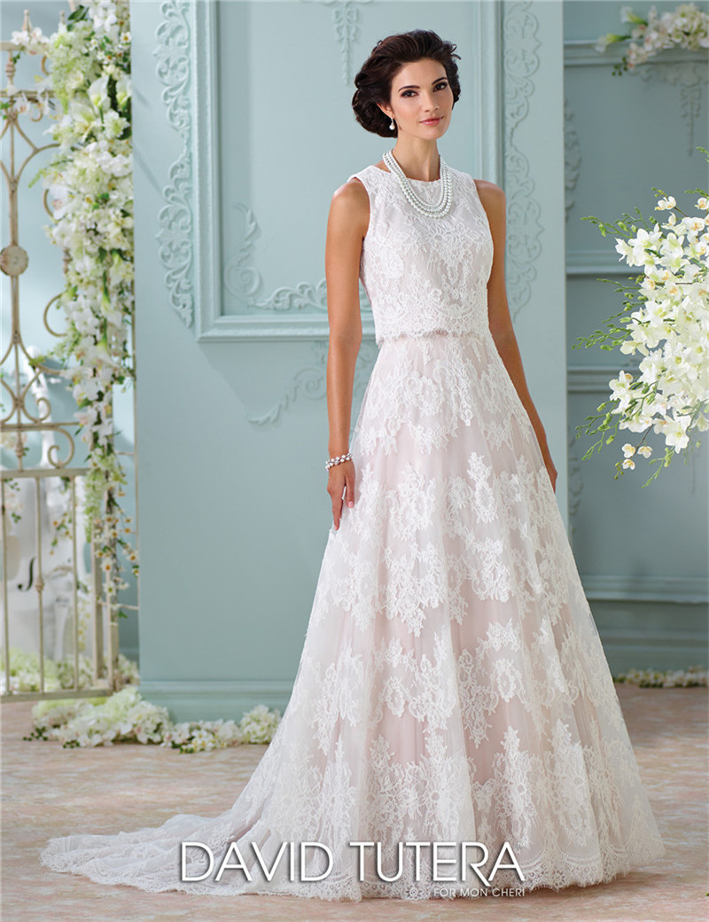 Champane Wedding Dresses Oleg Cassini Mermaid Style | Dress images