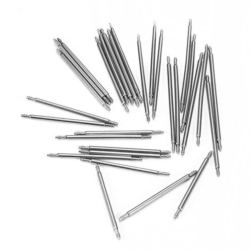 100pcs Stainless Steel Watch Band Spring Bars Strap Pin Repair Tools Link Pins Repair Watchmaker 14mm 16mm 18mm 20mm 22mm 24mm 360pcs 8 25mm watch band spring bars strap link pins repair watchmaker tools stainless steel for women men watch double flange
