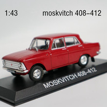 High simulation MOSKVITCH 408-412,1:43 Moscow exports foreign trade alloy car,collection toy vehicles,free shipping