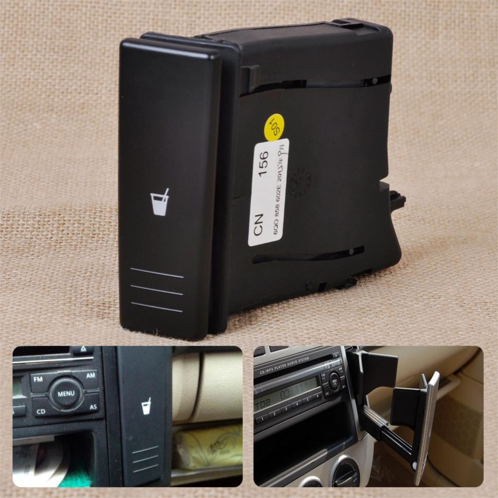 DWCX Porte-gobelets pour boissons avec eau, console centrale, droite, - Accessoires intérieurs de voiture - Photo 1