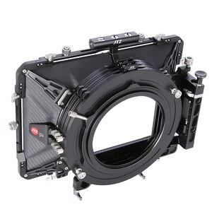 "JTZ DP30 Cine Carbon Fiber 6""x6"" Matte Box 15mm/19mm For Sony ARRI RED CANON BMD Sony ARRI RED C100 C300 FS5 FS7 BMPCC(China)"