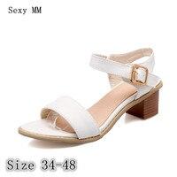 Women Sandals High Heels Slippers Peep Toe Pumps Summer Shoes Woman High Heel Sandals Plus Size
