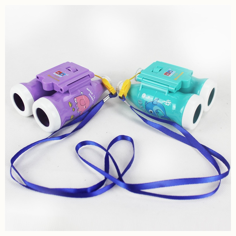 Mini Binoculars Toys Plastic Telescopes Toy For Kid