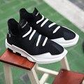 Nuevos Hombres de la Marca Famosa Pisos Tobillo Casual Shoes Transpirable Slip-on Zapatos Chaussure Homme zapatos Aumento de la Altura Masculina Hombre