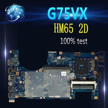 Amazoon  G75VX Laptop motherboard for ASUS G75VX G75VW G75V G75 Test original mainboard 2D