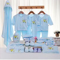 Emotion Moms 29PCS/set newborn baby girls clothes cotton 0 6months infants baby girl boys clothing set baby gift set without box