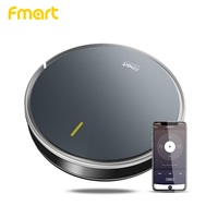 Fmart Robot Vacuum Cleaner App Control suctio 3000 Pa wet and dry Anticollision Antifall Self charge household Auto Cleaning B66