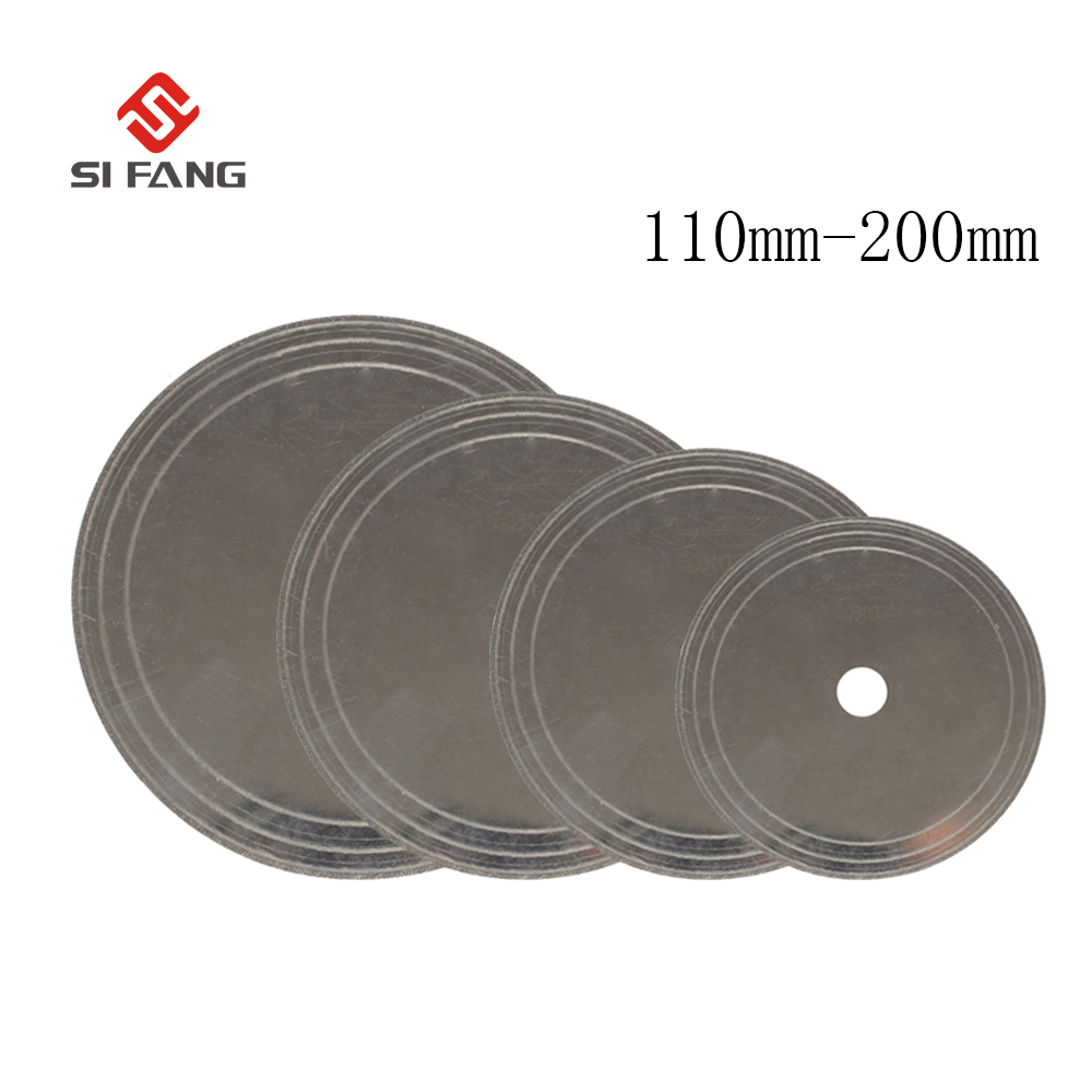 1Pcs Super Thin Diamond Lapidary Saws Trim Blade Edge Wet Cutting Disc Jewellery Tools For Glass Stone 25mm 110/150/180/200mm