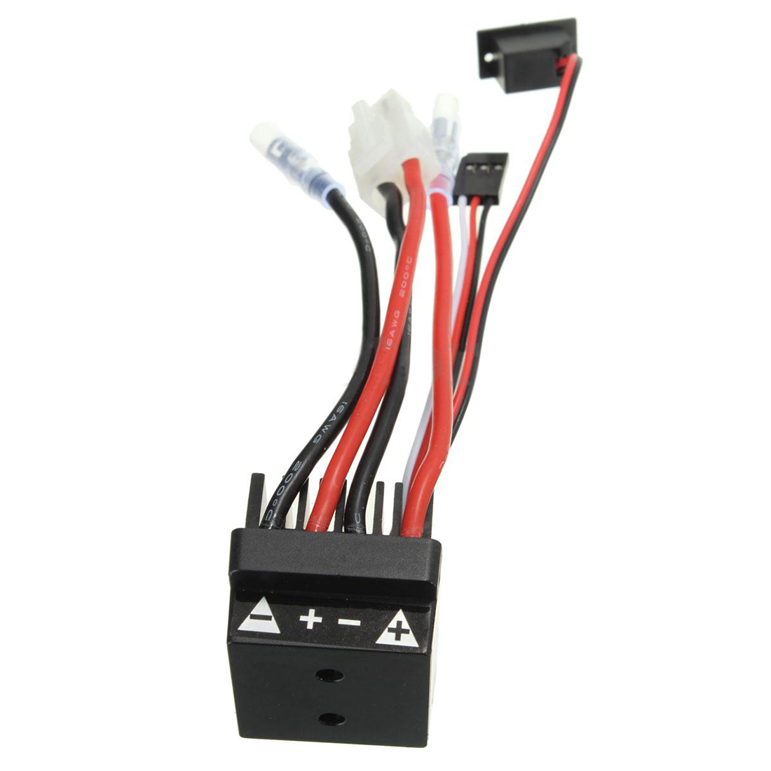 MACH HSP 320A Brushed Brush Motor Speed Controller ESC F. 1/10 1/12 RC Truck Car Boat 320a brushed motor speed controller esc for rc car ship