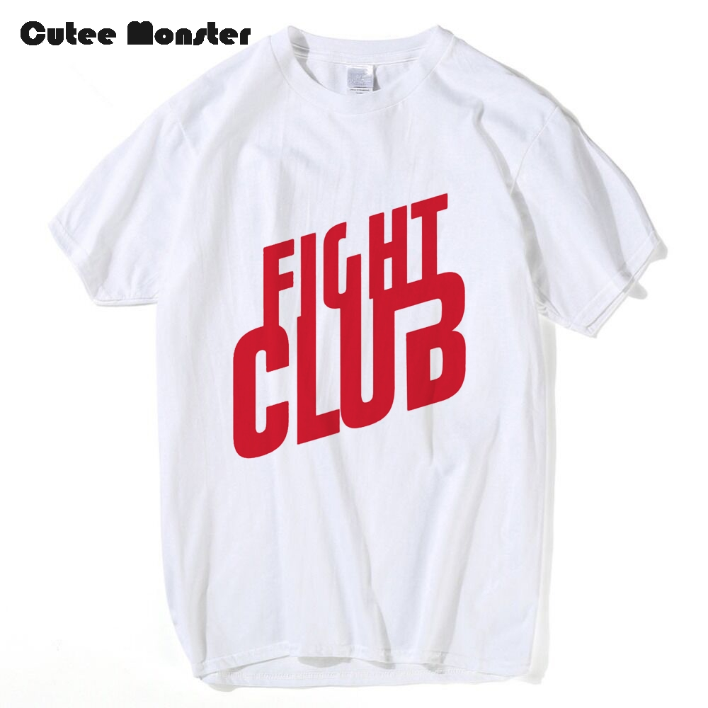 T shirt design job - Chuck Palahniuk Movie Fight Club T Shirt Men S Cotton Letter Printed T Shirt Working Jobs Custom Design Top Tees Clothing 3xl