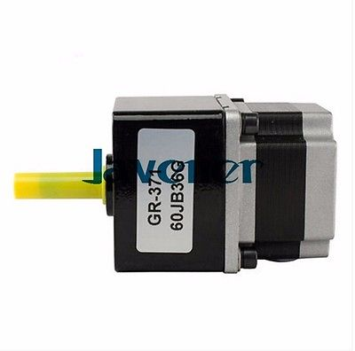 JHSTM57 Stepping Motor DC Two-Phase Angle 1.8/2V/4 Wires/Single Shaft/Ratio 18 jhstm57 stepping motor dc 2 phase angle 1 8 3 2v 4 wires single shaft ratio 9